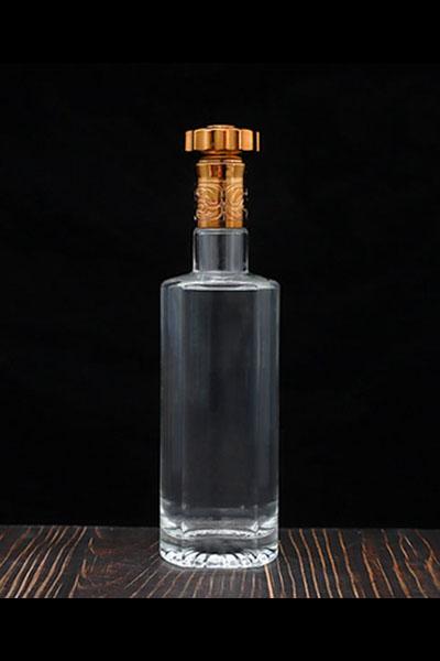 新款晶白料酒瓶-009