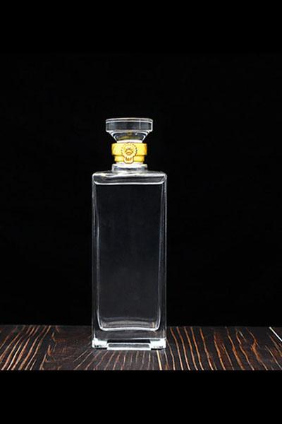新款晶白料酒瓶-010